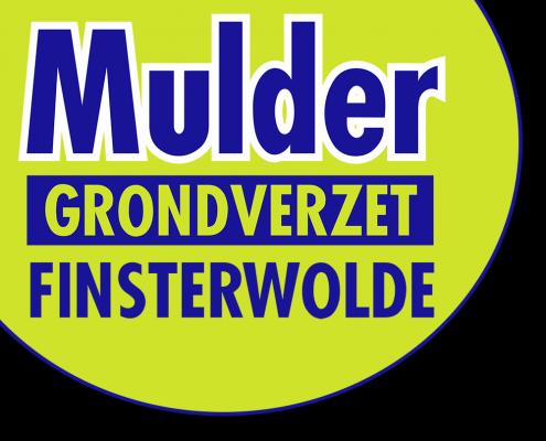 Mulder Grondverzet Finsterwolde Logo voor verhuur grondverzet projecten en kraanverhuur bij mulder grondverzet uit Finsterwolde